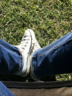 converse on my feet