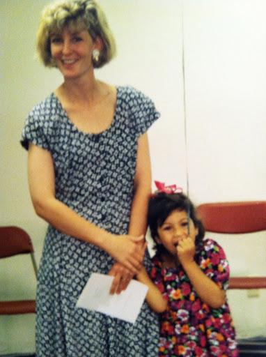 me and liz, 2011